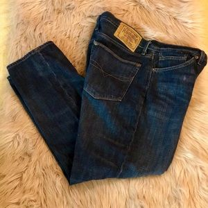 Ralph Lauren Sport Premium Distressed Denim Jeans